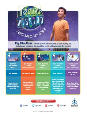 Lessons at a Glance - Miraculous Mission VBS