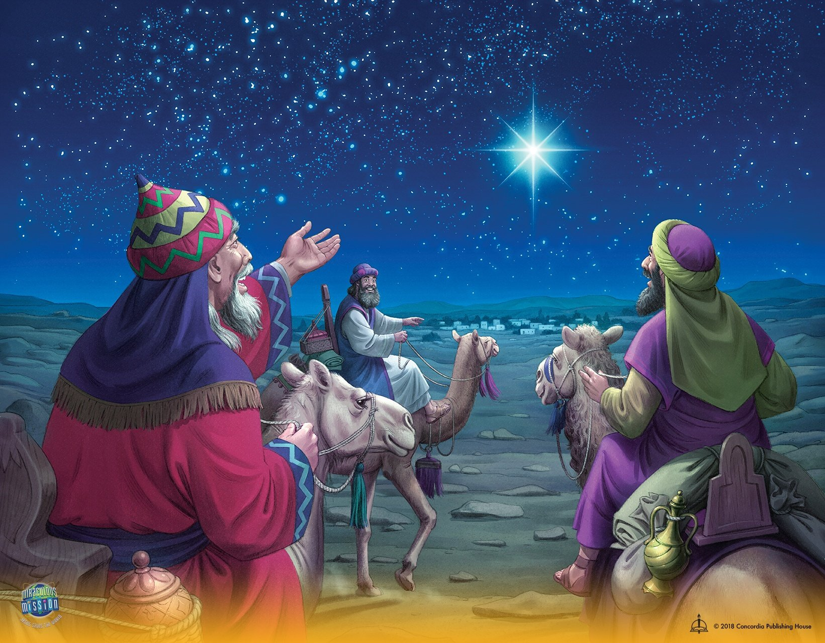 Bible Lesson 3 - Jesus the Savior is Born