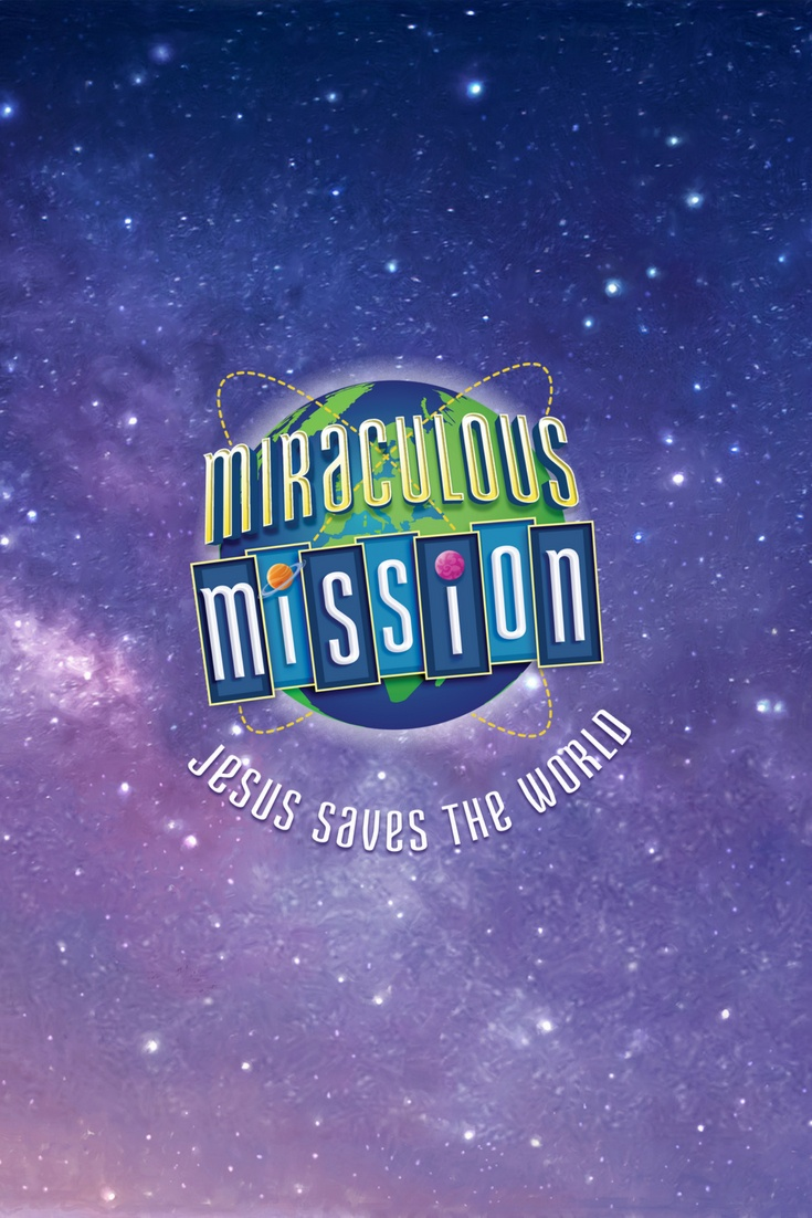 Miraculous Mission VBS - Pinterest Graphic
